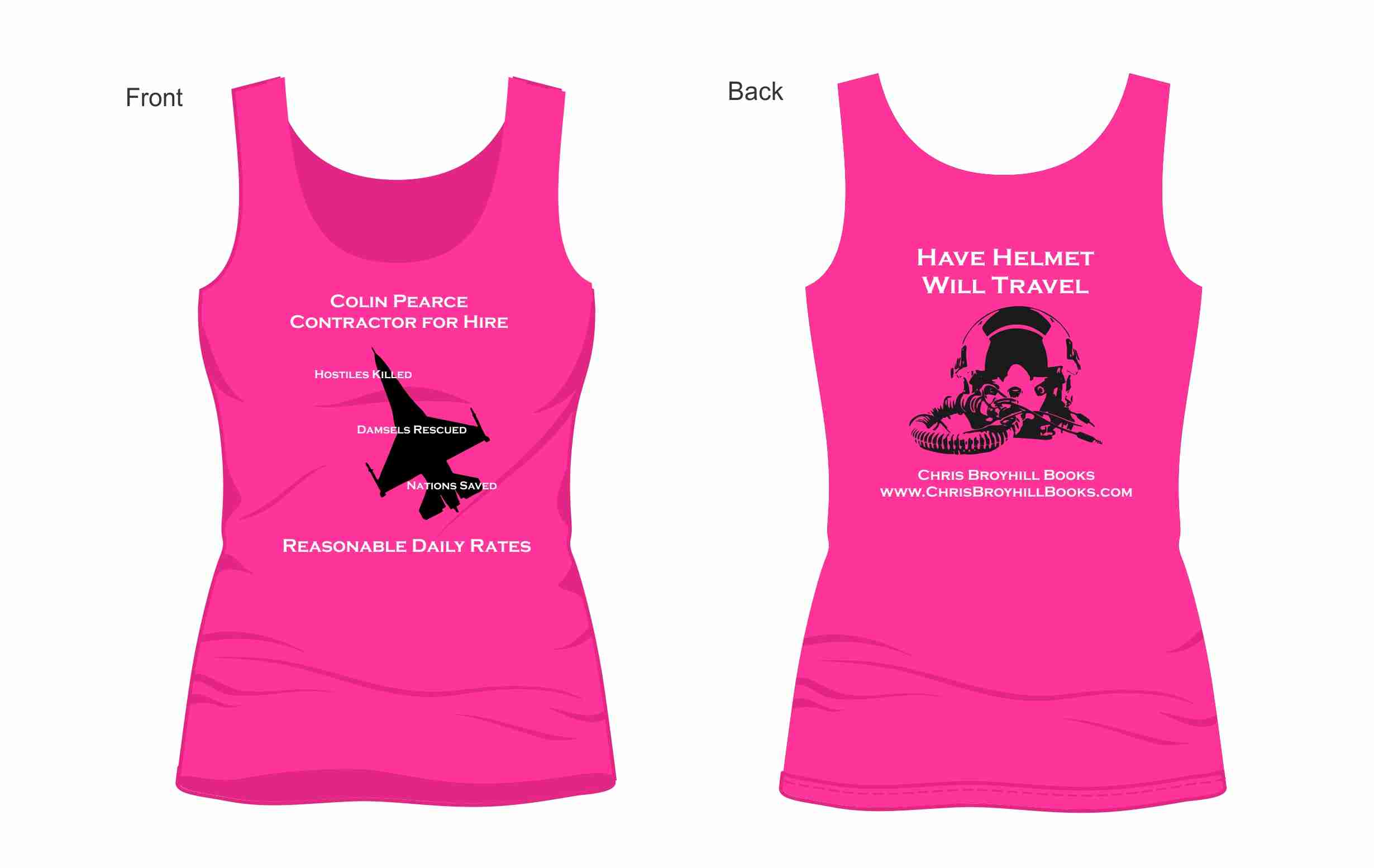 Colin Pearce Women's Tank