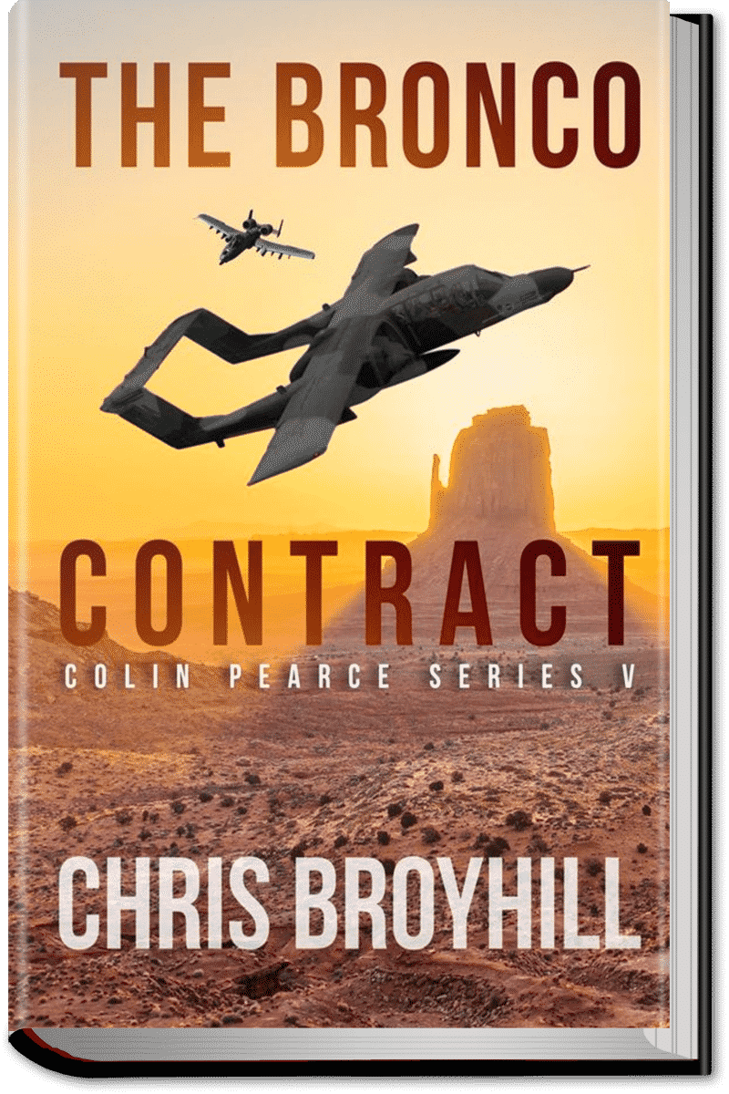 The Bronco Contract by Chris Broyhill