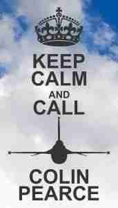 Keep Calm and Call Colin Pearce Magnet